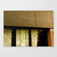 contemporary Canvas Prints featuring Contemporary by Casey J. Newman