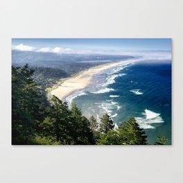 Coastline - Oregon Coast Canvas Print