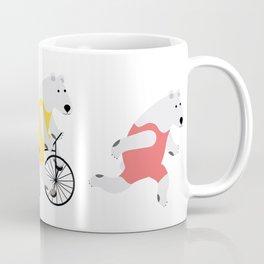 Polar Bear Triathletes Coffee Mug