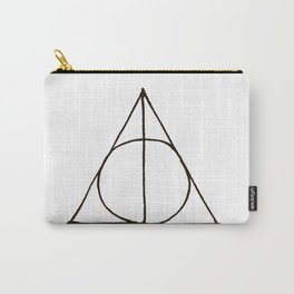 Deathly Hallows Sign Carry-All Pouch