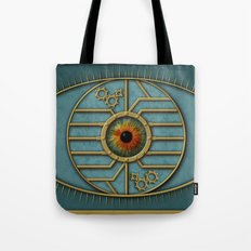 Steampunk Security Tote Bag