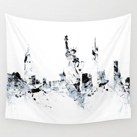 NEW YORK SPLASH Skyline by bastianherbstrith