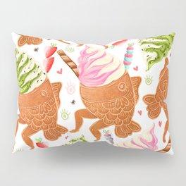 Taiyaki Mermaids Pillow Sham