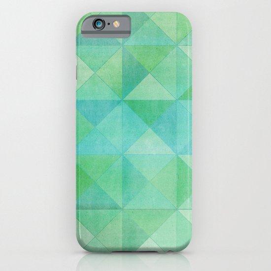 Green/Blue : Pattern iPhone & iPod Case