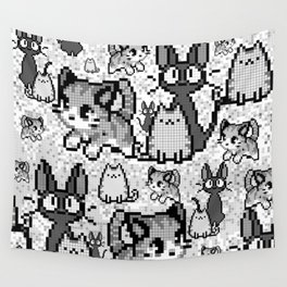 Cat and kitten 4 Wall Tapestry