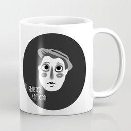 Buster Keaton Coffee Mug
