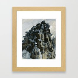 Frosted Tips Framed Art Print