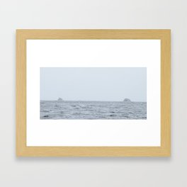 Distant Framed Art Print