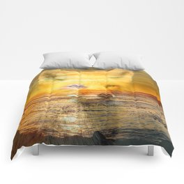 Sunset Fox Comforters