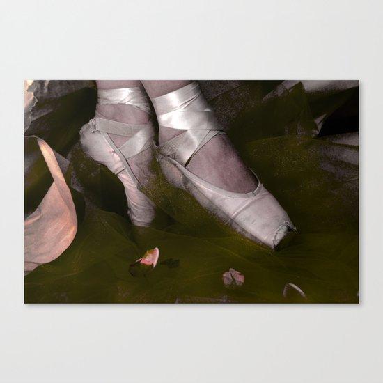Muddy Ballet Canvas Print