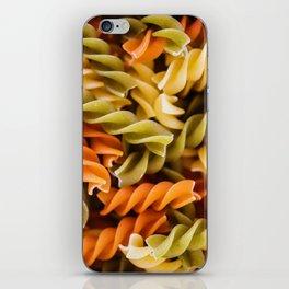 Pasta Noodles Pattern (Color) iPhone Skin