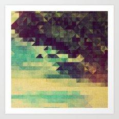 the midnight zone Art Print