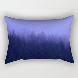Periwinkle Fog 0367 - Seward, Alaska Rectangular Pillow