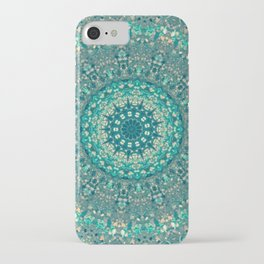 Turquoise Pattern iPhone Case