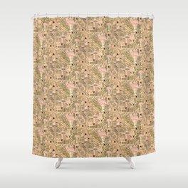 Foraged Shower Curtain
