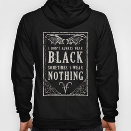 "Tshirt Design ""The Goth Color Palette"" Hoody"