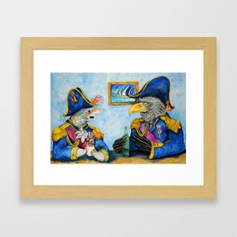 Admirals of the Ocean Seas Framed Art Print