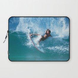 """Surfing """"Aukai Slasher"""" Laptop Sleeve"""