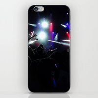 concert iPhone & iPod Skins featuring CONCERT by Eclectic House Of Art