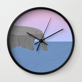 Time // Place Wall Clock