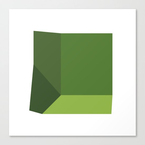 #319 Beginnings – Geometry Daily Canvas Print