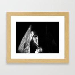 pray Framed Art Print
