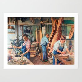 Sausage factor Art Print