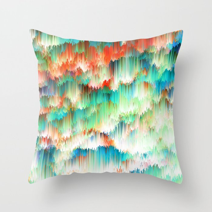 Raindown Throw Pillow