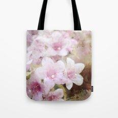 Floral Pink Tote Bag