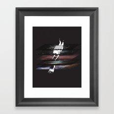 Through the Tesseract Framed Art Print