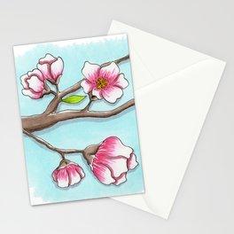 Almond Tree Stationery Cards