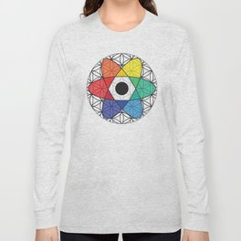 Flower of Science Long Sleeve T-shirt