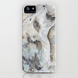 """Animal - """"Sweet Wolf"""" - by LiliFlore iPhone Case"""