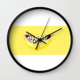 Le Rire Jaune. Wall Clock