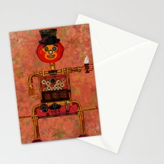 Steampunk Pumpkin Stationery Cards