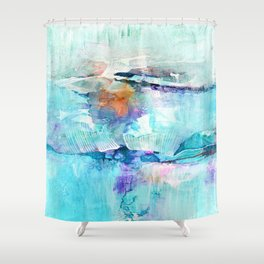 Eternity No.1m by Kathy Morton Stanion Shower Curtain