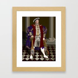 Political Correctness: the Dark Appeasement of King Henry Framed Art Print
