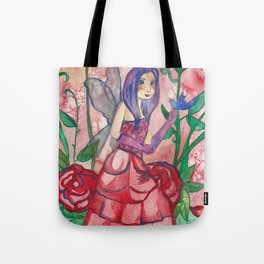Fairy Of Roses Tote Bag