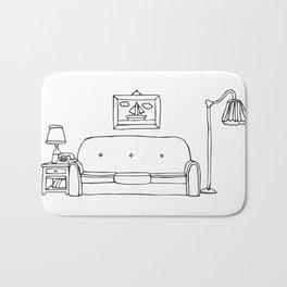 Living Room Shenanigans Bath Mat
