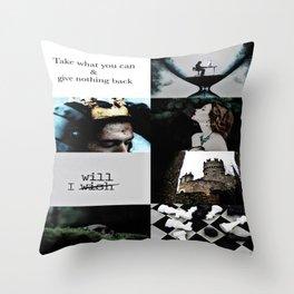 Slytherin Aesthetic Throw Pillow
