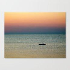 Tye Dye Sunrise Canvas Print