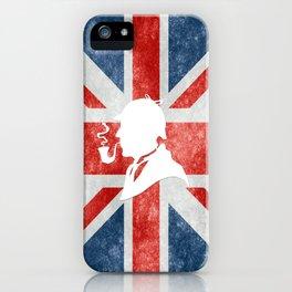 SHERLOCK HOLMES - BRITISH iPhone Case