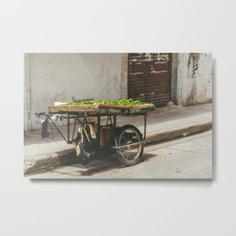 Limes on the Street, Cartagena, Colombia Metal Print