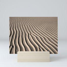 Beach Ripples Mini Art Print