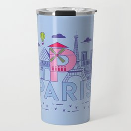 Paris, France Travel Mug