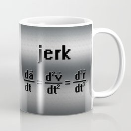 """Jerk"" Formula Coffee Mug"