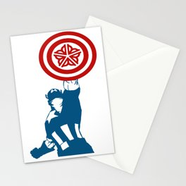 Captain Outlaw Stationery Cards
