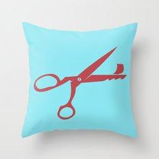 Scissorship Throw Pillow