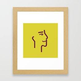 logo j 2 Framed Art Print