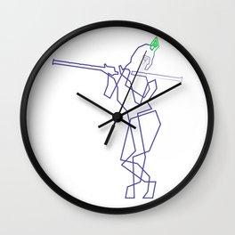 Krishna Line Wall Clock